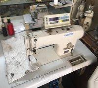 出售二手服装厂电脑缝纫机拷边机