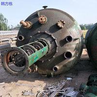 湖南长沙出售100台二手5000升搪瓷反应釜 二手化工设备