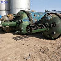 湖南永州出售100台二手5000升搪瓷反应釜 二手化工设备
