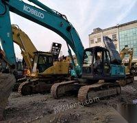 转让库存干活车神钢350-超8挖掘机手续齐全,全国包送。