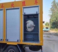 污水处理车带吸污吸粪集于一身的多功能吸污车
