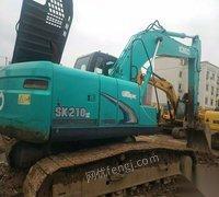出售干活车神钢210-超8挖掘机手续齐全,全国包送。