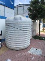 处置积压7个10吨储水罐