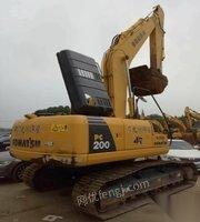 处理库存极品小松200-8n1挖掘机