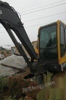 处理旧沃尔沃55挖掘机