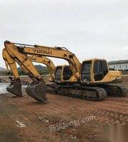 出售闲置自用玉柴135-8挖掘机