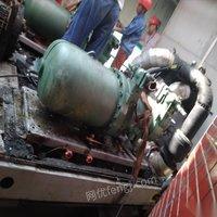 出售闲置二手bitzer比泽尔csh7571-70y-40p螺杆式压缩机
