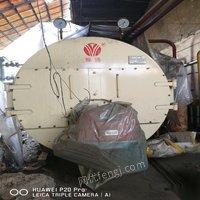 出售二手纯新四吨燃气蒸汽锅炉