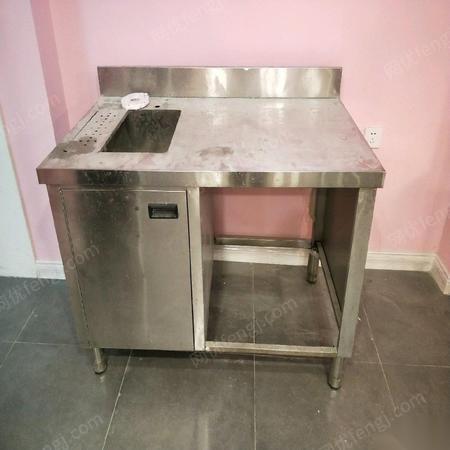 全新水吧台水槽操作台洗手池不锈钢 999元/台