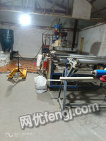 上海嘉定区出售1套1.2米吹膜二手吹膜设备35000元