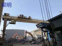出售16吨30米双梁龙门两台,高度12米