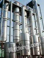 转让二手蒸发器、三效四体浓缩蒸发器、单效500升蒸发器