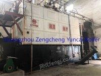 Selling used 60T biomaterial high temperature superheater steam boiler
