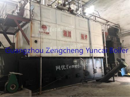 Selling used 60T biomaterial high temperature superheater steam boiler
