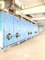 出售11年德州松式烘干机2200门幅,6箱,导热油加热。