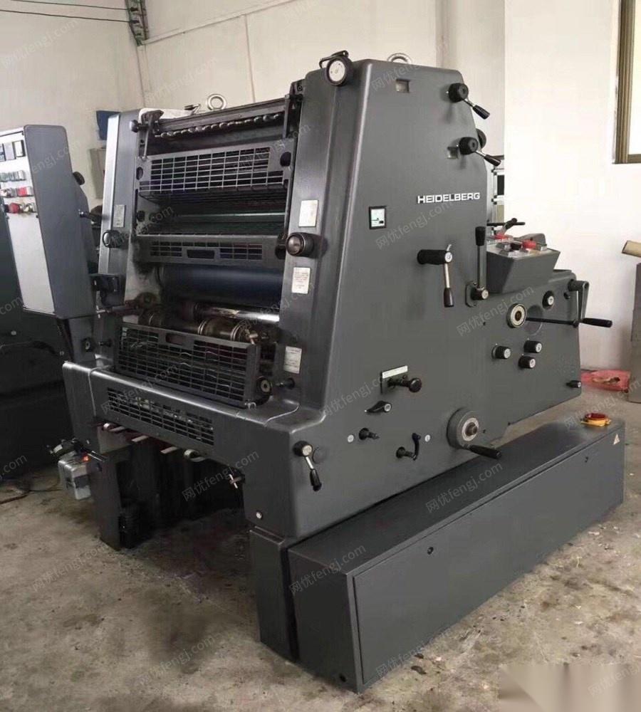 单色印刷机_出售:海德堡gto52单色印刷机