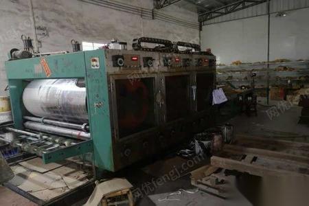 纸箱厂设备在生产转让