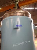 湖南衡阳出售100台30000L二手反应设备电议或面议