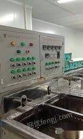 出售二手10槽超声波清洗机,配套一吨纯水,包安装调试 60000元