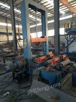 现货出售数条钢结构生产线及各种型号抛丸机