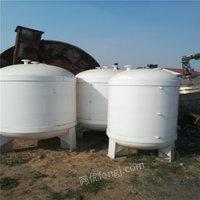 山东济宁出售防腐蚀橡胶储罐、二手橡胶设备电议或面议