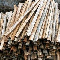 回收方木模板方钢钢管旧木料,