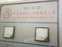 建材厂出售2213B木工砂光机1台,闲置,有图片