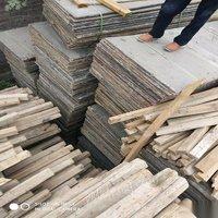 出售二手 建筑方木竹笆模板高低床 脚手架马桶