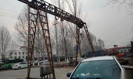航吊出售,梁长11米,高6米,跨度8.5米 11000元