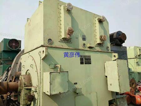 出售二手上海电机YKS800-4/5600KW.10KV