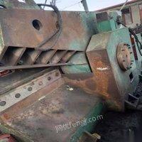 重庆万州区出售二手华宏500吨315吨250吨金属剪切机现货