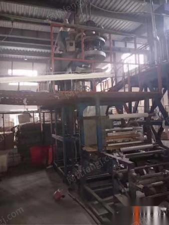 上海宝山区转让武汉新中德3层共挤吹膜机