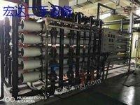 厂家闲置出售一套100吨反渗透水处理设备