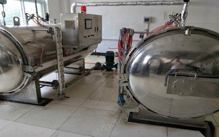 广东广州转让二手灌肠机 杀菌锅 拉伸膜包装机