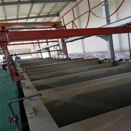 广东东莞因环评问题无法开工低价转让二手电镀生产线 abs塑胶电镀自动生产线