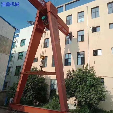 低价出售1台MH单梁16吨二手龙门吊