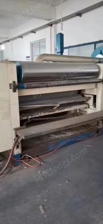 厂家处理东光E瓦和F瓦1650单面瓦楞机全套,1台甩刀机,1台手动覆膜机(雅邦多功能预涂膜复合机)