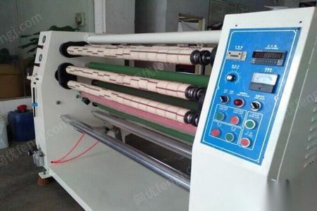 广东深圳出售二手胶带机二手分条机二手切台认准东莞佳源二手胶带机