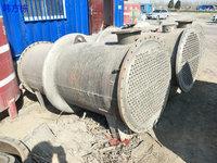 广东潮州出售100平方二手冷凝器、列管式、无锡雪浪生产