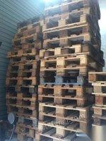 浙江杭州出售二手实木托盘