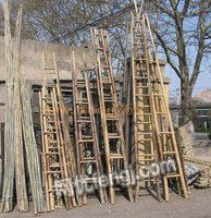 出售电力工程竹梯子直梯2米-8米