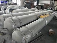 广东潮州出售100平方二手冷凝器、二手离心机、二手反应釜等