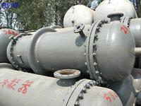 广东潮州出售100平方二手冷凝器、二手反应釜、二手离心机