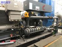 出售二手阿特拉斯离心式空压机160立方10公斤压力1万伏电压