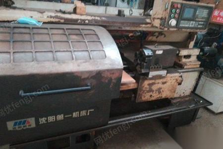 辽宁大连因订单减少, 沈阳数控车3台便宜处理 80000元