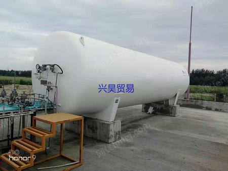 二出售手20立方LNG液化天然气储罐,2015年河北黄骅出厂
