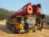 广东阳江出售1台三一25吨5节壁二手起重设备350000元