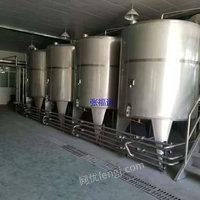 出售二手乳品饮料灌装机生产线