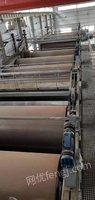 出售2条造纸厂生产线4200:1800X4700烘缸22个、2400:1500X2900烘缸20个