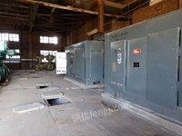 出售工厂淘汰的2套干螺杆压缩机,变压器12台